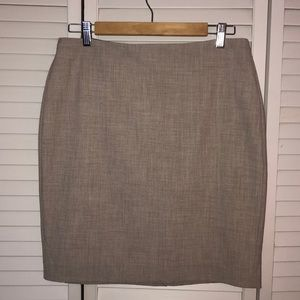 Banana Republic Tan pencil skirt